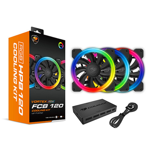 쿠거 VORTEX RGB FCB 120 KIT